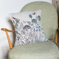 'Meadow Grasses' Printed/Stitched Cushion Cover