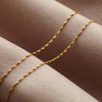 Twisted 9ct Gold Bracelet, Gold