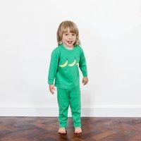 Green Banana Print Pyjama