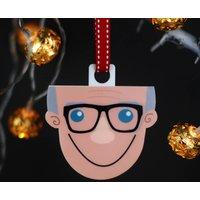Personalised Grandad Christmas Decoration