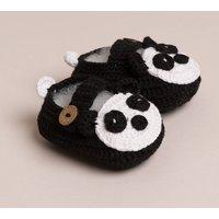 Baby Handmade Panda Shoes