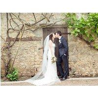 Alicia Satin Edged Long Bridal Veil, White/Antique White/Ivory