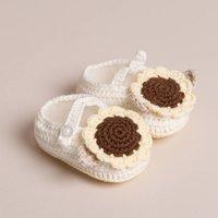 Baby Sunflower Shoes Handmade
