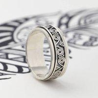 Men's Aztec Wanderer Spinning Ring