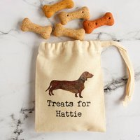 Personalised Mini Bags Of Dog Treats