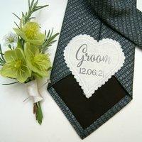 Wedding Bridal Party Keepsake Patch