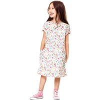 Busy Owls Liberty Print Dress