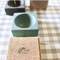 Incense Holder In Sustainable Concrete