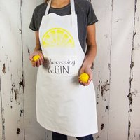 Let The Evening Be Gin Apron