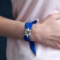 Blue Ribbon Bracelet, Black