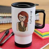Personalised Teacher Travel Mug Thank You Gift