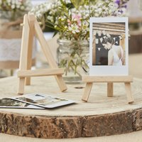 Mini Wooden Wedding Decoration Easels