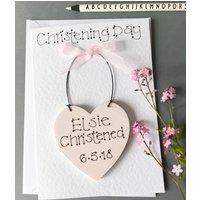 Keepsake Christening Card