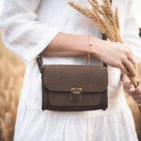 The Mocha Cross Body Leather Bag