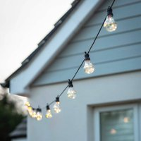 Solar Powered Festoon Lights