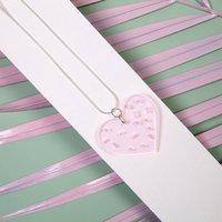 Sprinkle Love Acrylic Heart Jewellery Set