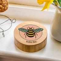 Luxury Bamboo Wooden Bee Jewellery Box