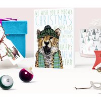 Caroling Cats Meowy Christmas Card