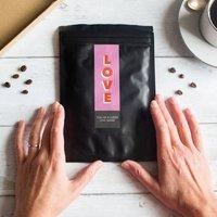 Personalised Anniversary Love Coffee Gift