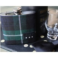Limited Personalised Tartan Hip Flask Gift