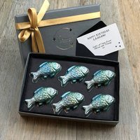 Fishes Personalised Belgian Chocolate Letterbox