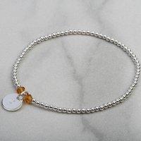 November Birthstone Topaz Bracelet Gift For Her