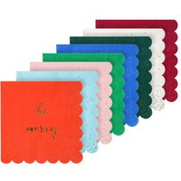 Jolly Confetti Paper Party Napkins