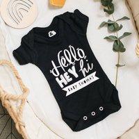 Personalised New Baby Birth Babygrow