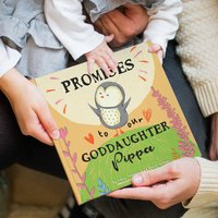 Personalised 'Promises To You' Book For Godchild