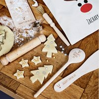 Personalised Kids Christmas Baking Kit