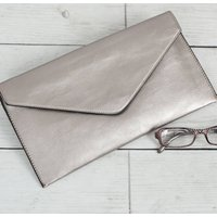 Clutch Bag, Gold/Silver/Black