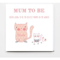 'Mum To Be' Personalised Greeting Card