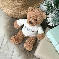 Personalised Traditional Teddy Medium Soft Toy