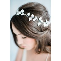 The Jasmine Bridal Hairvine