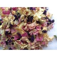 2021 English Rose Petals, Wild Flowers Confetti, Pink/Orange/Cream