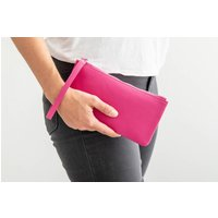 Personalised Clutch Bag In Pink