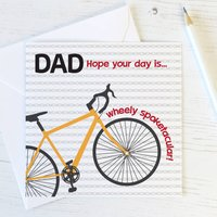 Bike Pun Dad Birthday / Fathers Day Card