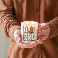 Personalised Dad And Me Fathers Day Candle Gift