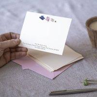 Personalised Flip Flop Correspondence Cards