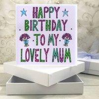 Personalised Mum Birthday Book Card