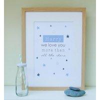 Stars Nursery Print