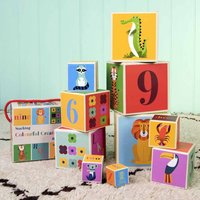 Large Stacking Toy Blocks For Babies And Toddlers