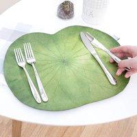 Vegan Lotus Leaf Placemats Set Of Four