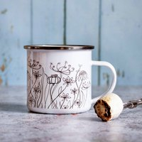 Meadow Gardener's Enamel Mug