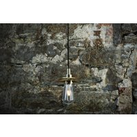 Ren Pendant Light, Antique Brass/Brass/Silver