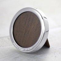 Little Round Silver Photo Frame