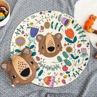 Woodland Bear Baby Play Mat