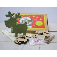 Decorate Your Own Reindeers Craft Kit Letterbox