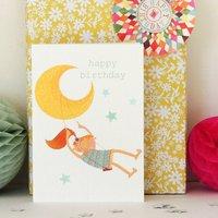 Girl's Happy Birthday Card