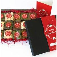 Indulgent Christmas Vegan Brownie Gift Box